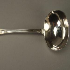 Cuillère à sauce ou crème modèle Louis XVI