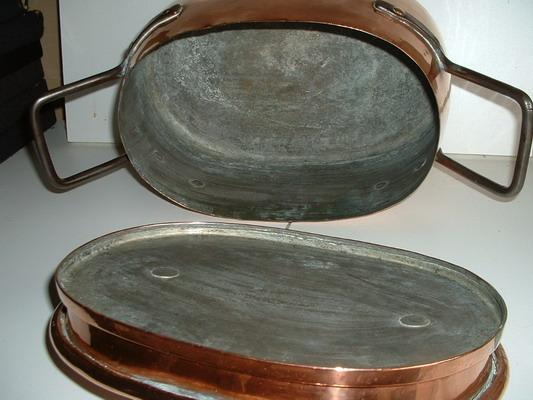 Photo étamage cuivre