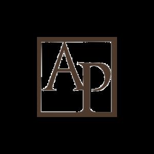 Logotype AP marron
