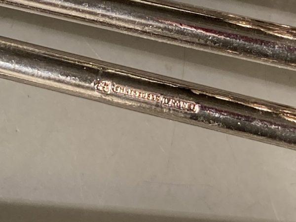 12 porte-couteaux Art déco modèle 4 Boules en croix