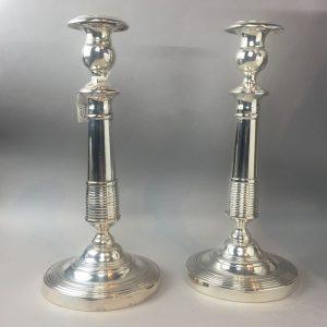 Paire de candélabres