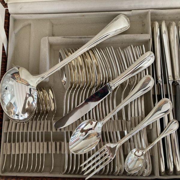 Ménagère 49 pièces Maty décor perlé